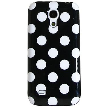 Exian – Étuis à pois blanc sur noir pour Galaxy S4 Mini