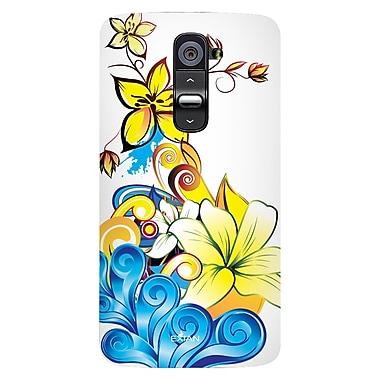 Exian – Étuis à motifs floraux pour LG G2