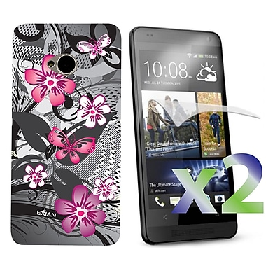 Exian Cases for HTC One, Floral Pattern
