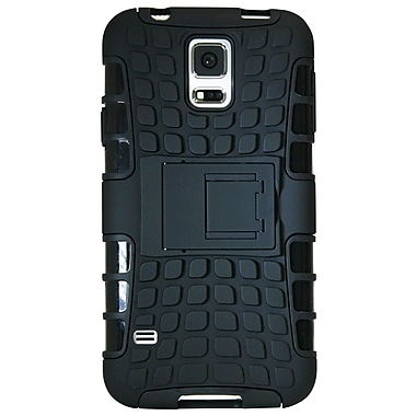 Exian S5017 Cases for Galaxy S5, Armored with Stand