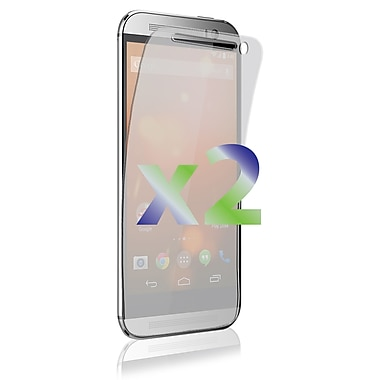 Exian HTC One M8 Screen Protectors, 2 Pieces