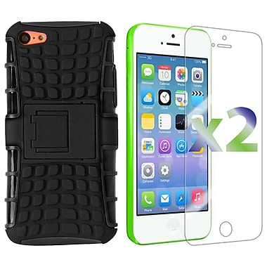 Exian Cases for iPhone 5C, Armored with Stand