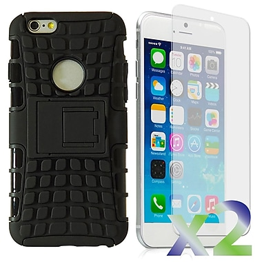 Exian 6GPLUS-001 Cases for iPhone 6 Plus, Armored with Stand