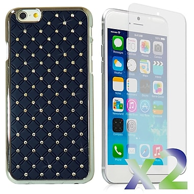 Exian Cases for iPhone 6 Plus, Embedded Crystals