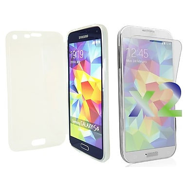 Exian Cases for Galaxy S5, Transparent with Front