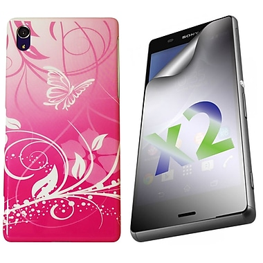 Exian Cases for Xperia Z3, Butterflies & Flowers