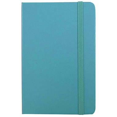JAM Paper® Hardcover Lined Notebooks with Elastic Band Closure, Large (5 7/8 x 8 1/2), 2/Pack