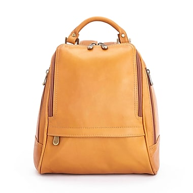 Royce Leather Luxury Women's Sling Backpack in Handcrafted Colombian Genuine Leather, Tan