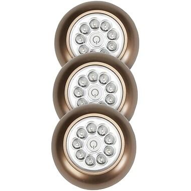 Light It! ? Lampe tout usage à 9 DEL, très brillant, bronze