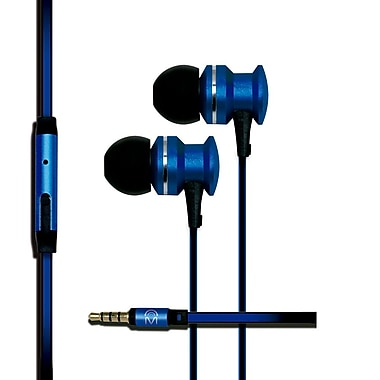 Mental Beats Xcentric Extra Bass Audio In-Ear Earbuds with Microphone