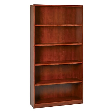 Office Star 5-Shelf Laminate Bookcases