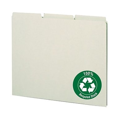 Smead® Top-Tab File Guides with Blank Tabs