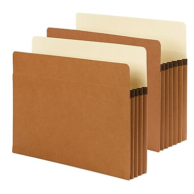 Smead® SuperTab® Pockets Expanding Files