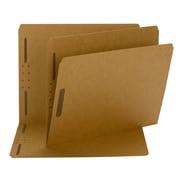 Smead® Fastener File Folder, 2 Fasteners, Reinforced Straight-Cut Tab, Letter Size, 50/Box