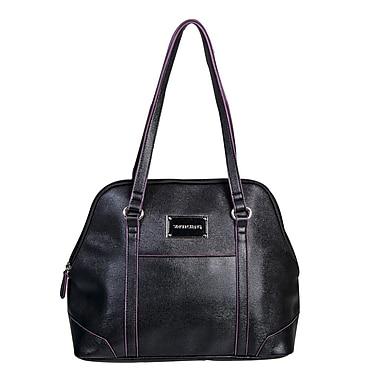 Simon Chang Ladies Faux Leather Dome Satchel Cooler Bags