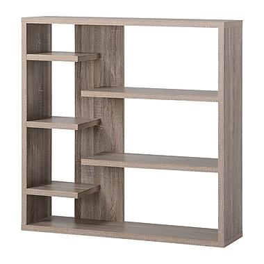 Homestar 6-Shelf Storage Bookcases