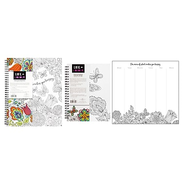 Pine Ridge Art Inc. Life in Colour Stationery Collections, 3/Pack