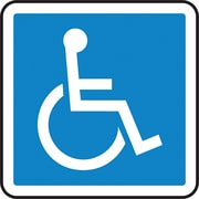 Accuform Signs CSA Pictogram Safety Signs, Handicap
