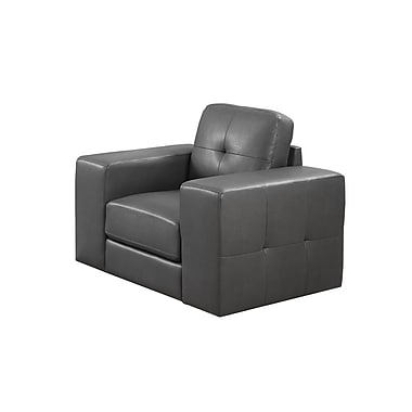 Monarch Bonded Leather Chair, Bonded Leather