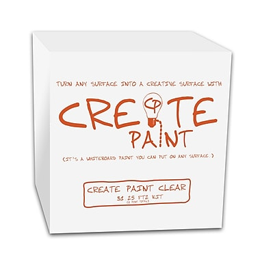 Create Paint 1pt Dry Erase Paint, Clear or White