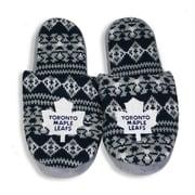 NHL Toronto Maple Leafs  Men's Sherpa Slippers