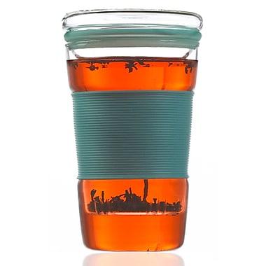 Grosche – Tasse à thé Infuz avec infuseur, bleu, 350 ml
