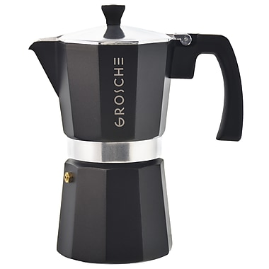 Grosche – Cafetière à espresso pour cuisinière Milano, 6 tasses