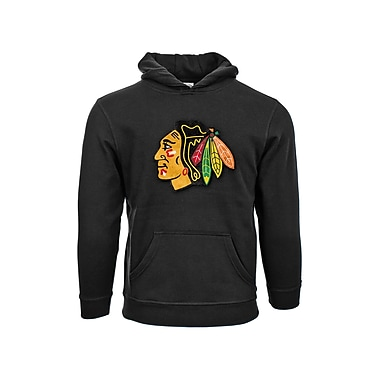 NHL Chicago Blackhawks Suede Crest Youth Hoodie
