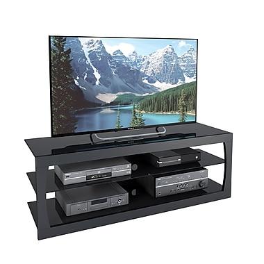 CorLivingMC – Meuble pour téléviseur jusqu'à 65 po TSL-203-T de la collection Santa Lana, mat