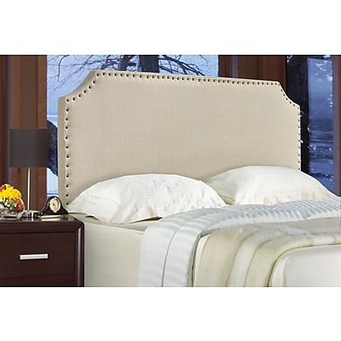 Brassex 1510F-BEI Full Size Headboard, 63
