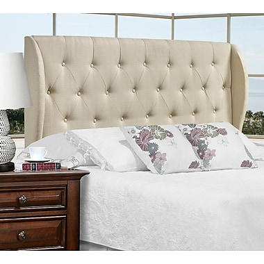 Brassex 1514F-BEI Full Size Headboard, 63