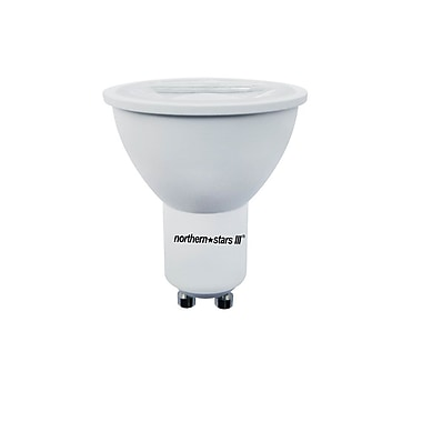 Northern Stars 84424 LED Light Bulb, GU10 7W, Dimmable, White
