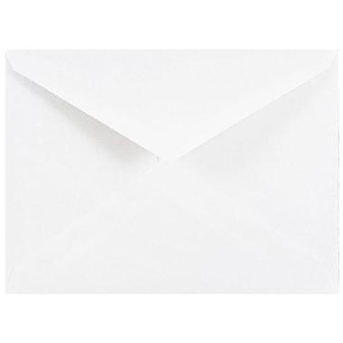 JAM Paper® 4bar V-Flap A1 Envelopes, 3.63