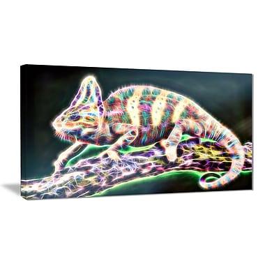 Designart – Art sur toile, esprit vital de l'iguane