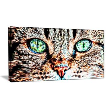 Design Art – Windows to the Soul Cat Eyes, impression sur toile