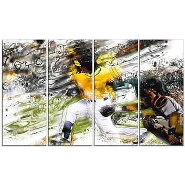 Designart – Art imprimé sur toile, arbitre de baseball