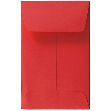 JAM PaperMD – Enveloppes à monnaie no 1, papier recyclé, 2,25 x 3,5 po, 500/paquet
