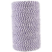 JAM Paper® Bakers Twine, Purple and White, 109 Yards