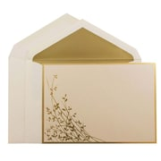 JAM PaperMD – Ensemble d'invitations de mariage, grand, 5,5 x 7,75, 50/paquet