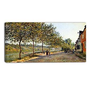 Design Art – Alfred Sisley, June Morning in Saint-Mammes, toile