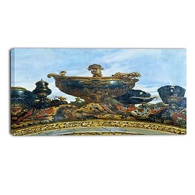 Designart – Art imprimé sur toile, Le navire de Louis XIV par Rene Antoine Houasse