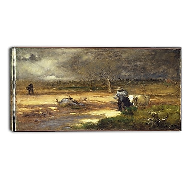 Design Art – George Inness, Homeward Landscape, impression sur toile