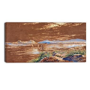 Design Art – Edward Lear, Corfu Landscape, impression sur toile