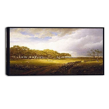 Design Art William Trost Richards, Old Orchard at Newport Canvas Art Print