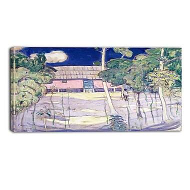 Design Art – James Wilson Morrice, Landscape, Trinidad, impression sur toile