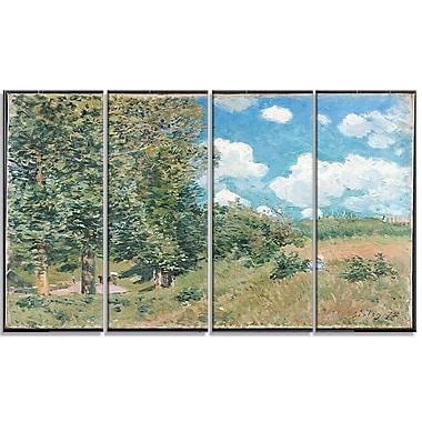 Design Art – Alfred Sisley, Road from Versailles to Saint-Germain, toile