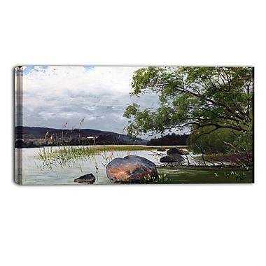 Designart – Imprimé de paysage sur toile, Fanny Churberg, Sea & Shore