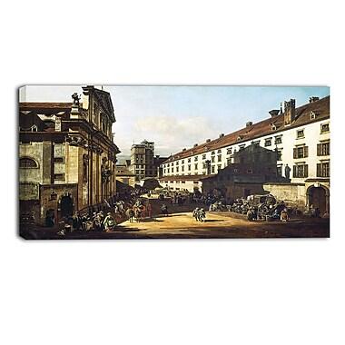 Designart – Paysage, Église dominicaine de Vienne, Bernardo Bellotto