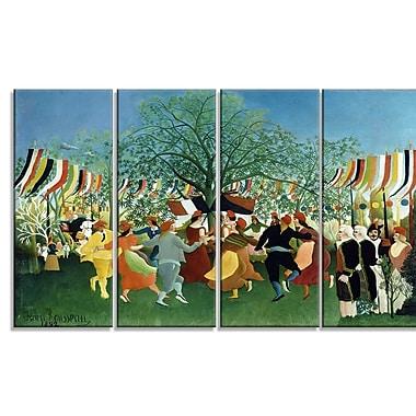 Designart – Henri Rousseau, Le centenaire de l'indépendance imprimée sur toile