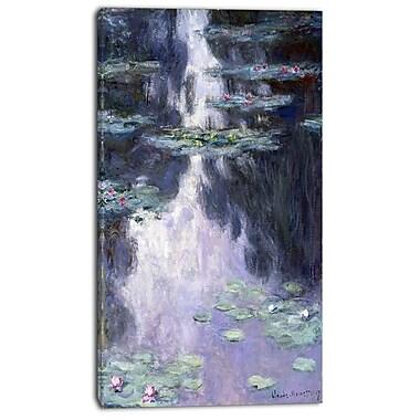 Designart – Imprimé sur toile, Claude Monet, Les Nymphéas